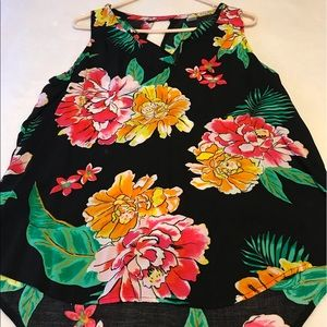 Floral Tank Old Navy
